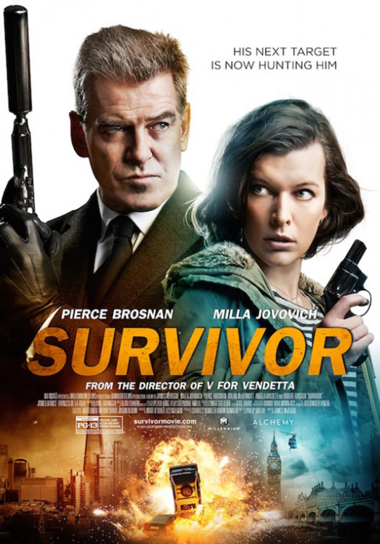 survivor movie info and showtimes in trinidad and tobago