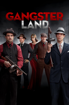 Poster Gangster Land