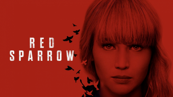 Poster Red Sparrow