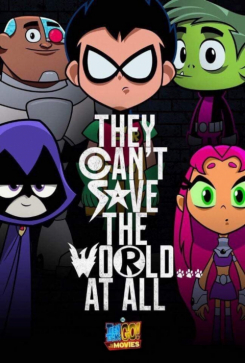 Poster Teen Titans Go! To the Movies