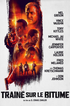 Poster Dragged Across Concrete