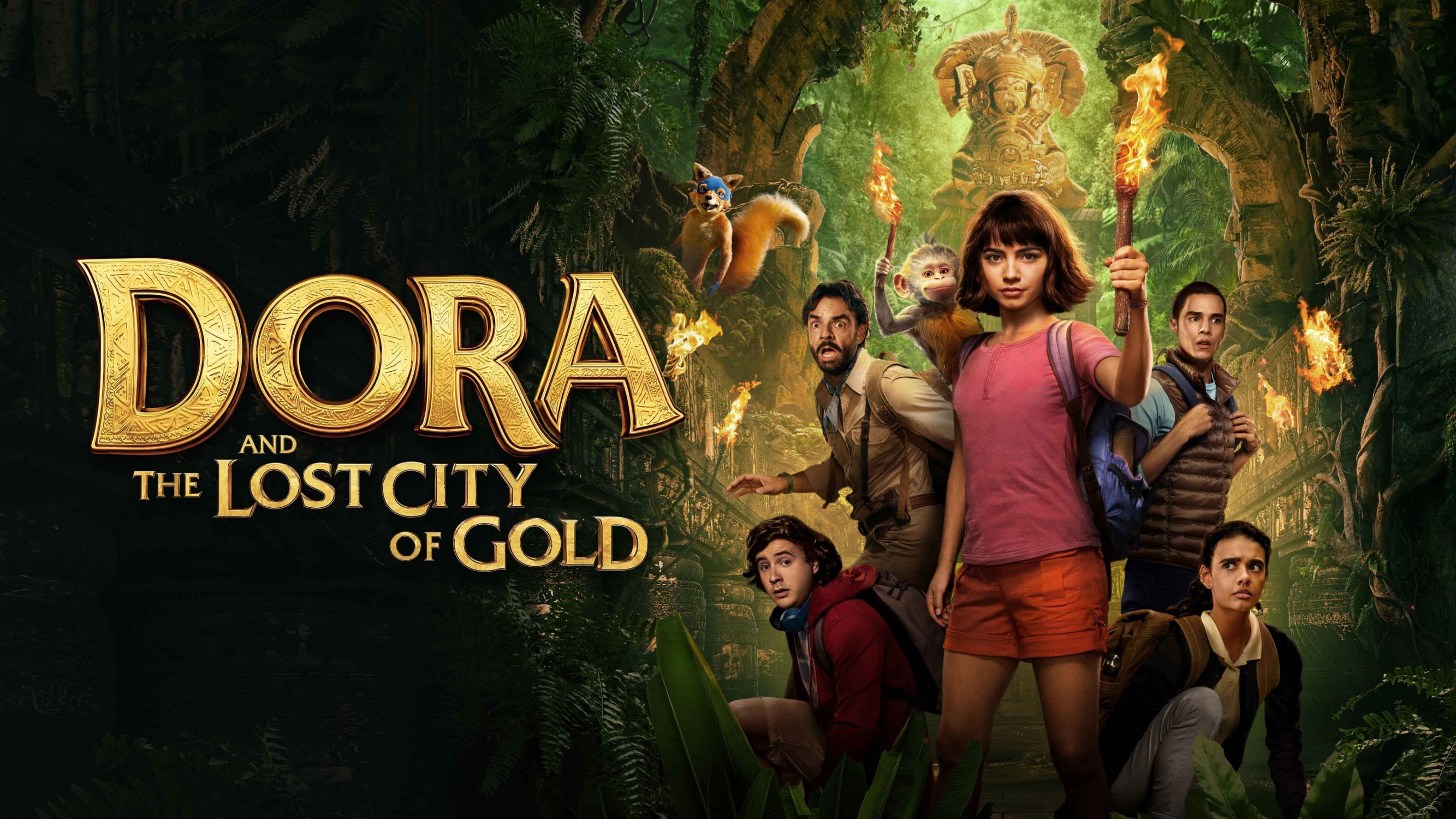 Image result for dora and the lost city of gold poster