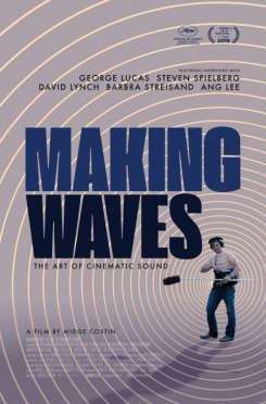 Poster Making Waves: The Art of Cinematic Sound